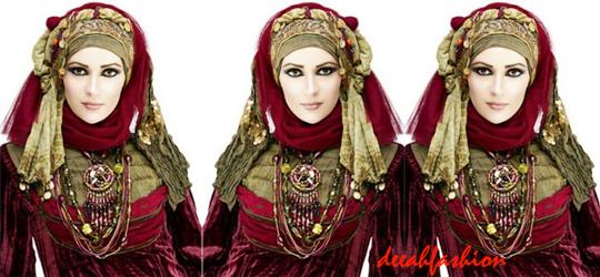 Jilbab Etnik Trend Jilbab 2014 Ethnic Chic
