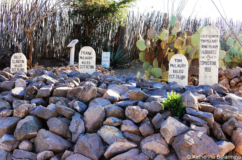 O.K. Corral Victims Buried in Boothill Graveyard Tombstone Arizona