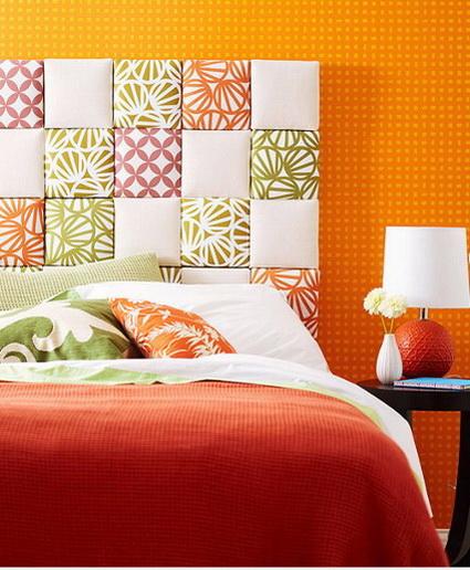 I d e a decoraci n cabeceros de cama ii - Cabeceros acolchados cama ...