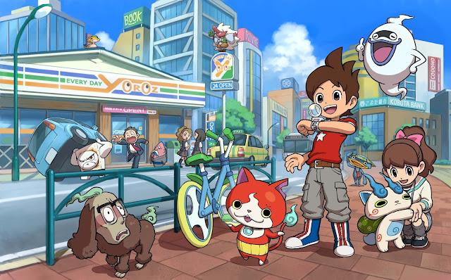 Yo-Kai Watch o próximo fenômeno global de estilo Pokemon
