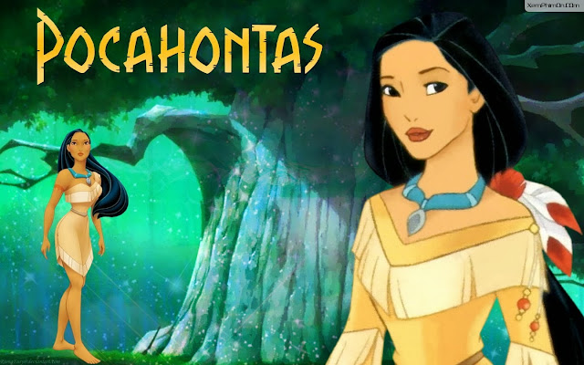 Nàng Pocahontas