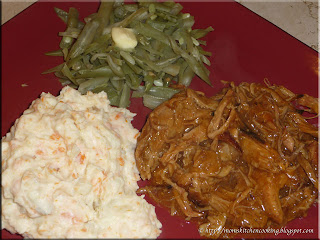 easy pulled beef dinner