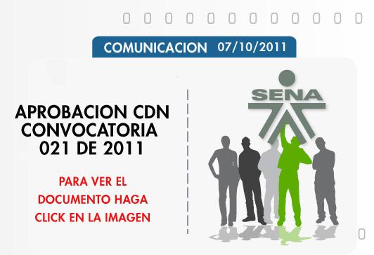 publicaciones convocatoria Año 2011