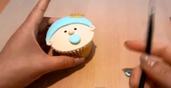 Cupcake de bebé