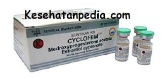 Efek samping suntik KB 1 Bulan Cyclofem