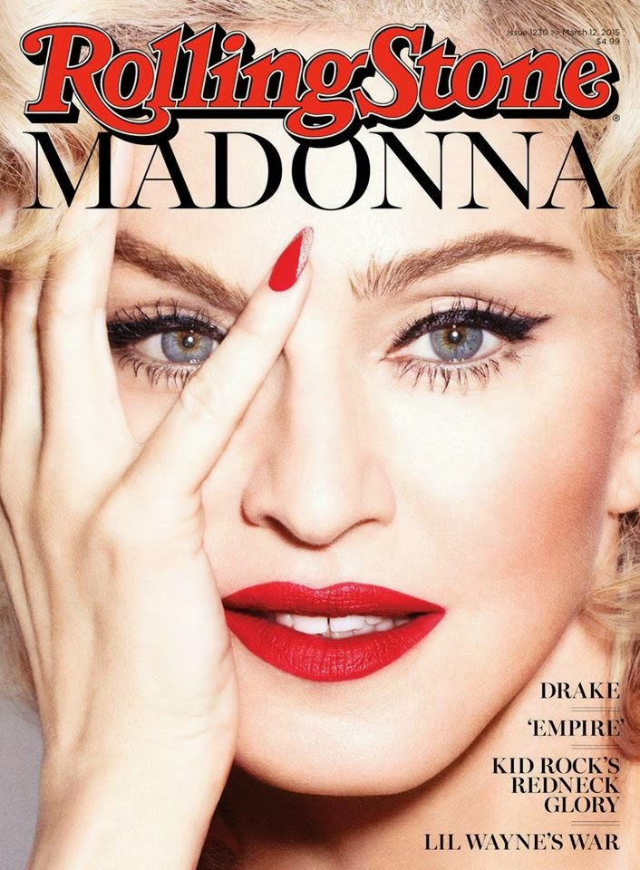 Musician, Singer, Actress @  Madonna - Rolling Stone USA, March 2015