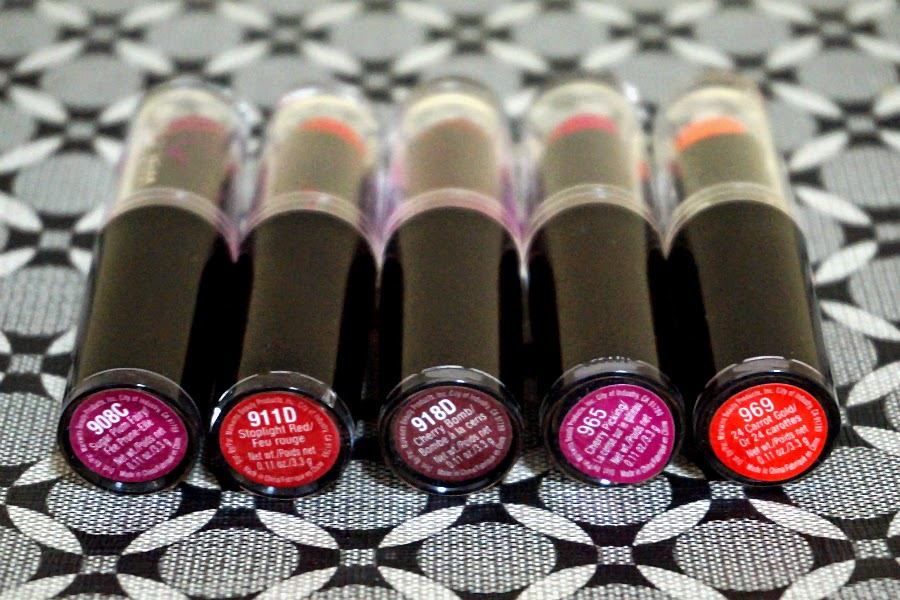 Wet n Wild Mega Last Matte Lip Color Lipsticks