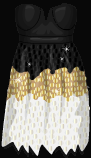 Stardoll Free Simple Sequin Dress