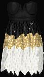 Stardoll Free Simple Sequin Dress