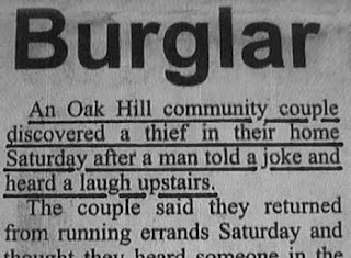 funny burglary fail