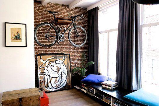 La Fabrique à Déco Ranger Un Vélo Dans Un Appartement
