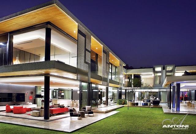 Casa de vidro moderna e espetacular decor salteado for Jazzghost casas modernas 9