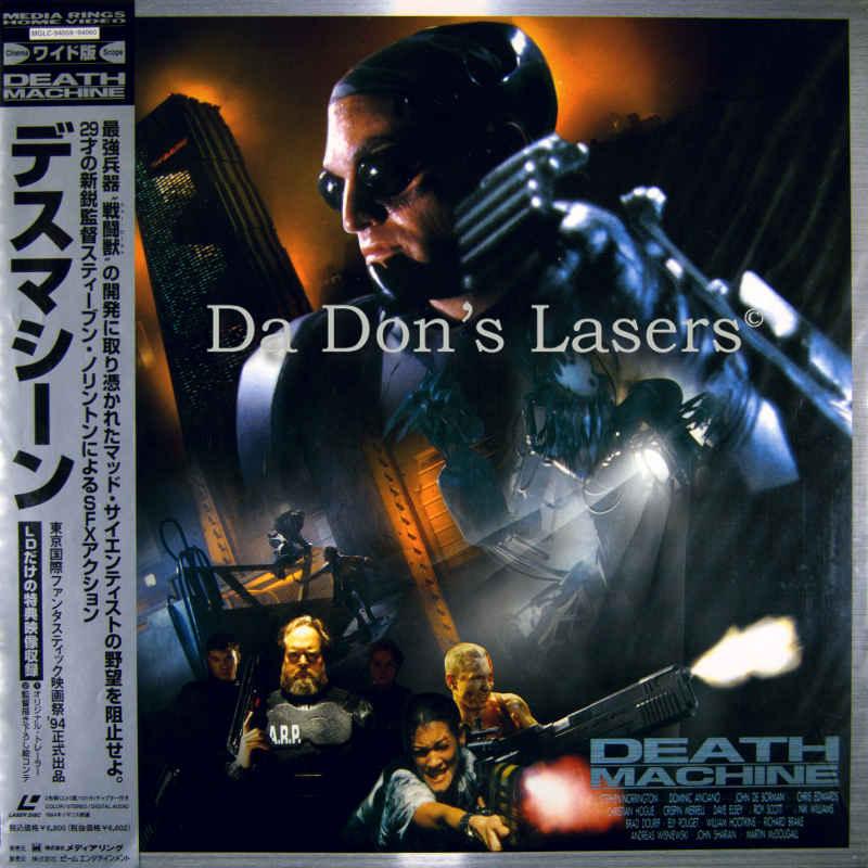 [Image: LaserDisc-Death-Machine-Japan-Only-Front800.jpg]