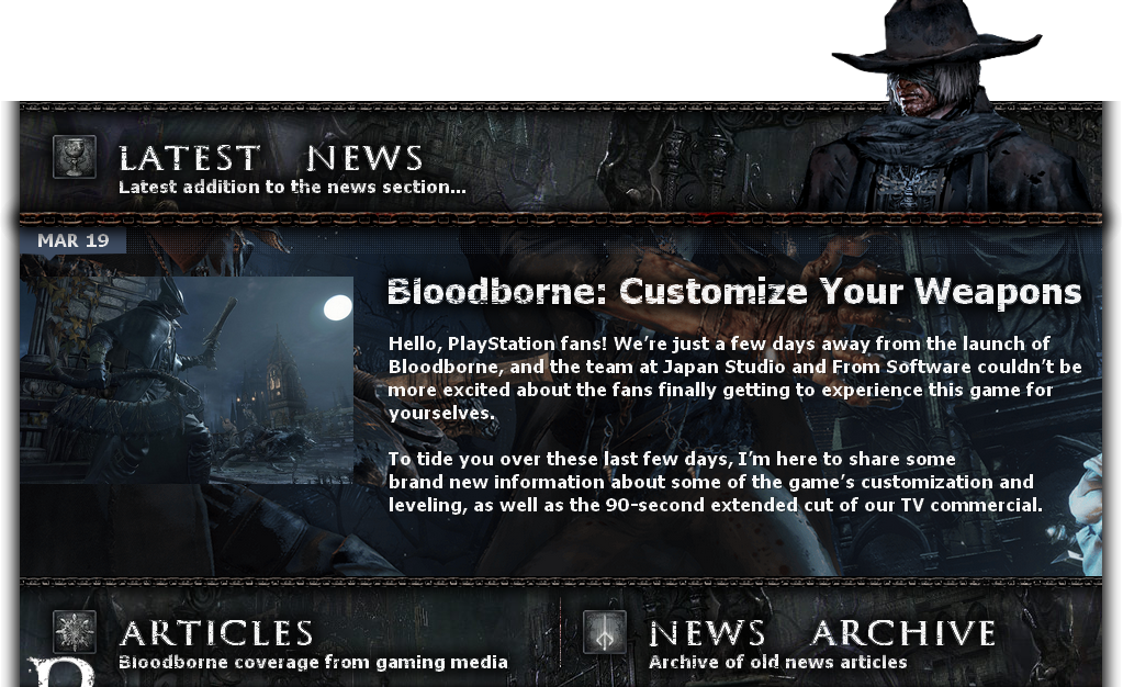 Bloodborne Latest News