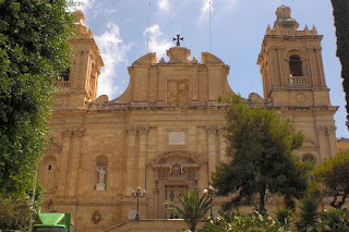 Iglesia Saint Lawrence, Birgu Vittoriosa, Malta, Europa