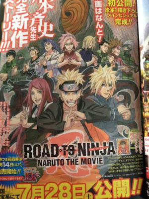 naruto shippuuden road ninja movie anuncio