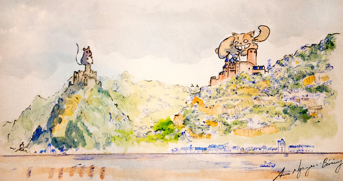 Burg Katz und Burg Maus