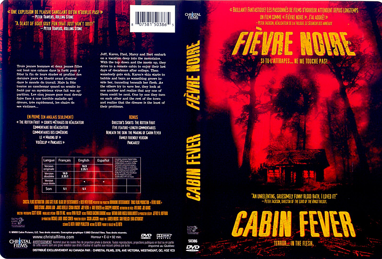 cabin fever images - photo #21