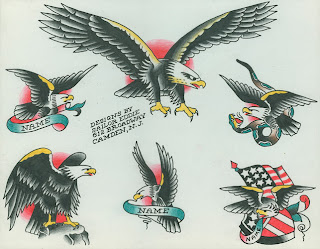 Eagle Flash Tattoo