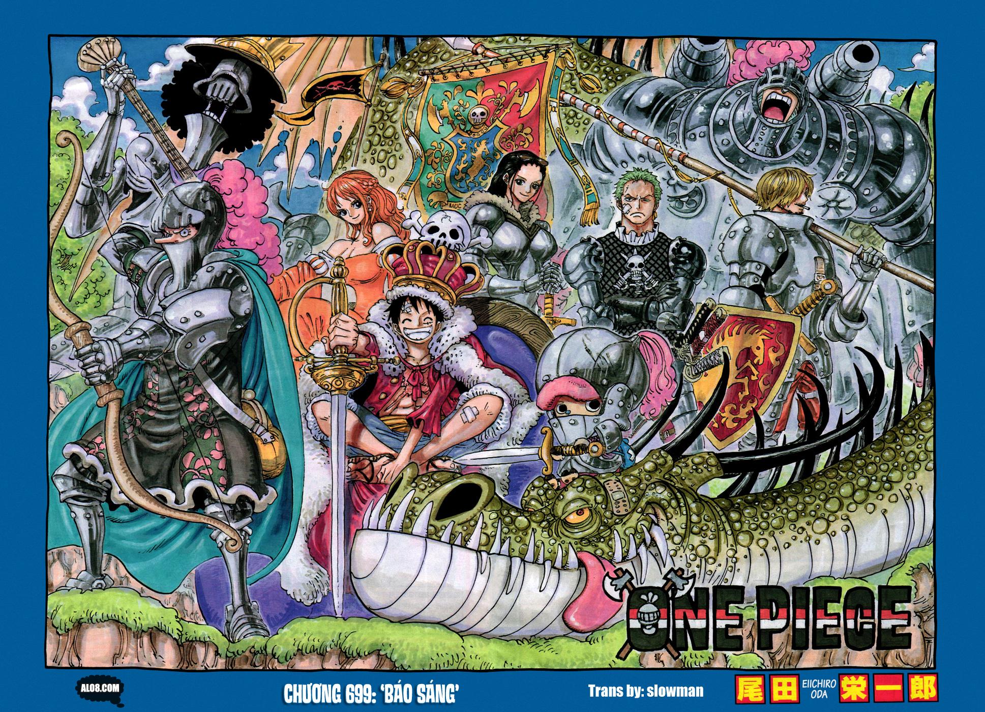 One Piece Chapter 699: Báo sáng 002