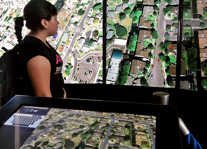 Google Earth Display Aquarium of The Pacific