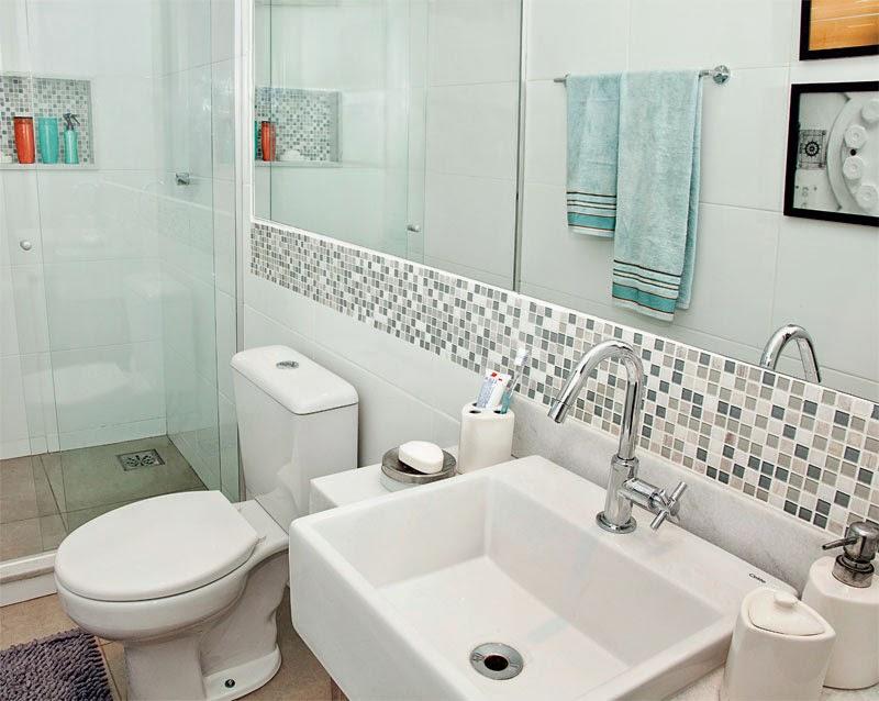 Soluções para apartamentos pequenos  Apê em Decoração -> Dimensao Banheiro Pequeno