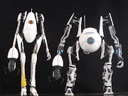 portal 2 robots Atlas and Pbody action figure toys