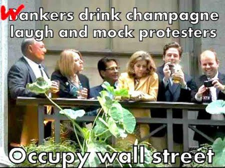 Champagne on Wall Street