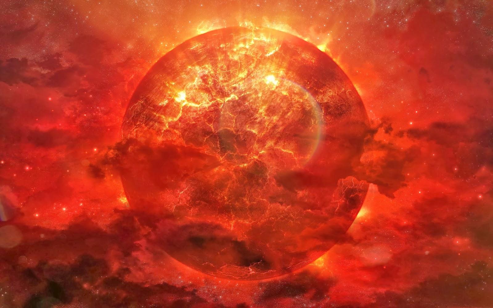 planeta ardiendo