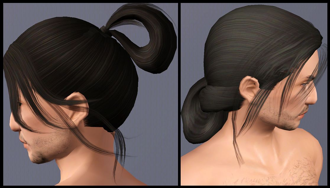 My Sims 3 Blog Two historical Asian inspired long  tied