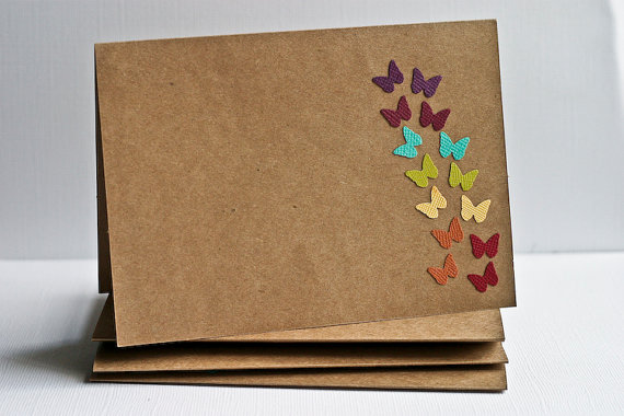 Rainbow envelopes and cards!