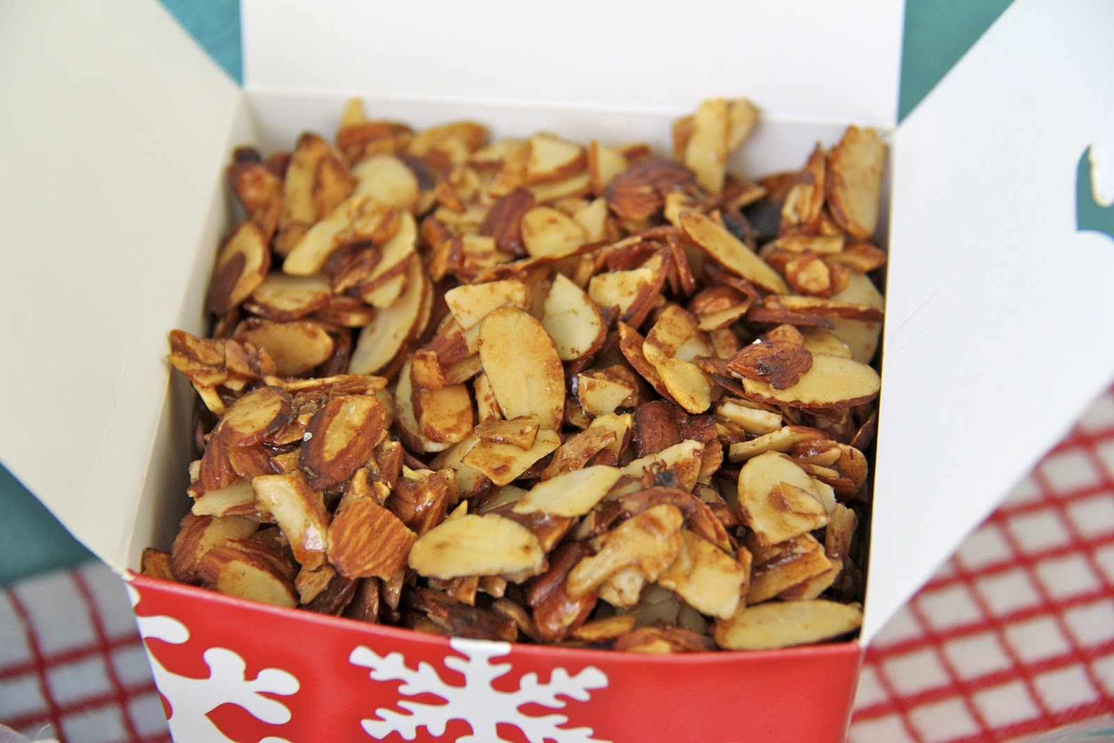 Candied Seven Spice Almonds Recipe — Dishmaps