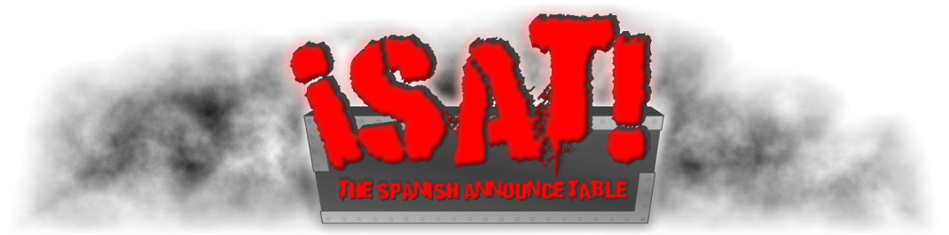 The Spanish Announce Table Wrestling Blog