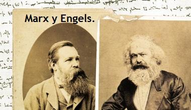 Escritos de Karl Marx y Friedrich Engels.