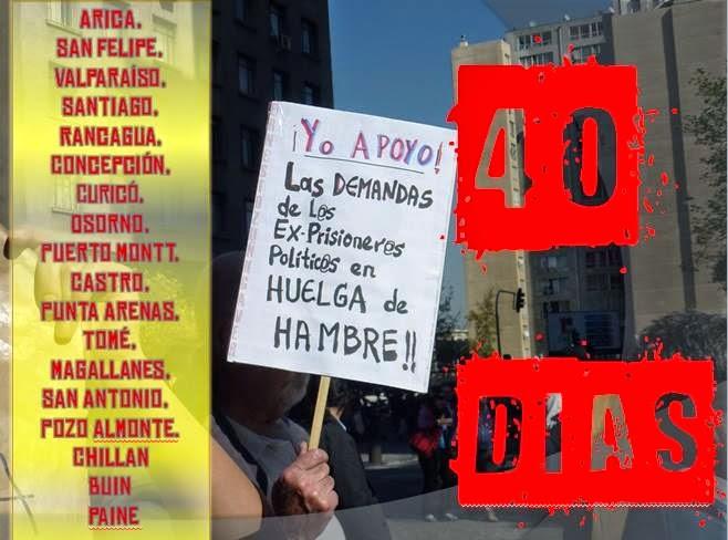 EX PRISIONEROS POLÍTICOS EN HUELGA DE HAMBRE