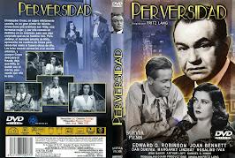 Perversidad (1945) - Carátula