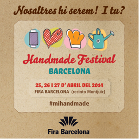 Friday again! estará en el Handmade Festival de Barcelona!