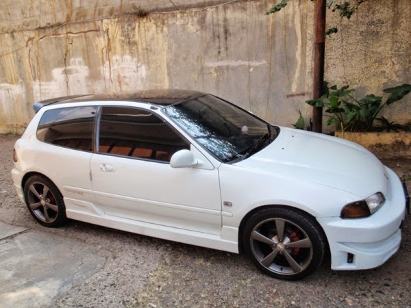 Modifikasi Honda Civic Estilo
