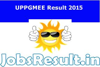 UPPGMEE Result 2015