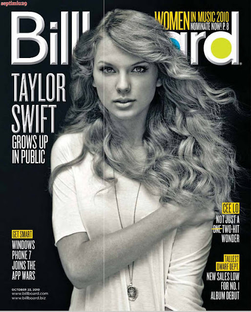 Taylor Swift in Billboard US Magazine