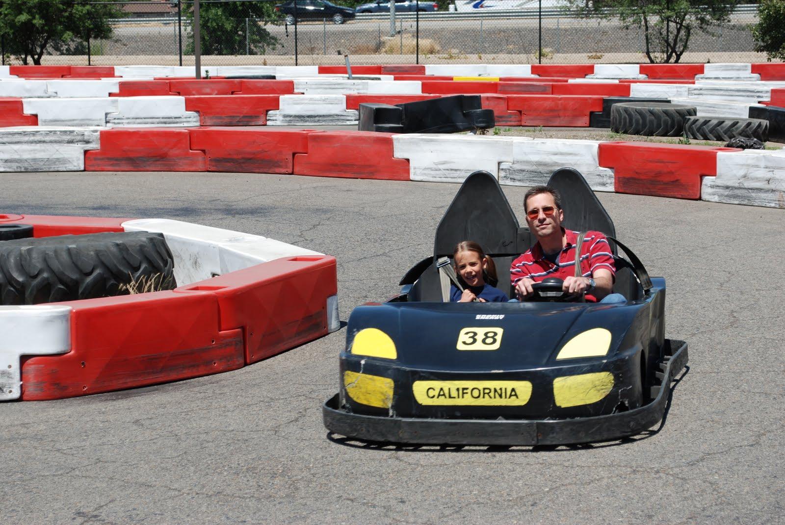Stein Family: Go-Kart Racing