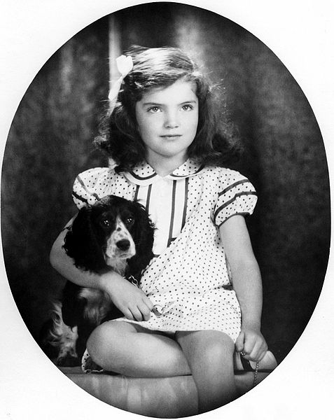 Jacqueline Bouvier baby photos of famous people
