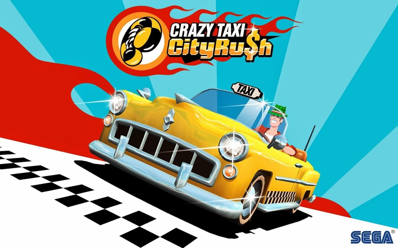 APK Android Mediafire: Crazy Taxi City Rush MOD APK+DATA