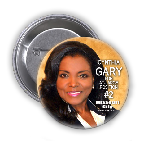 CYNTHIA GARY LOOKS TO MAKE HISTORY IN MISSOURI CITY, TEXAS AT-LARGE POSITION 2 RACE