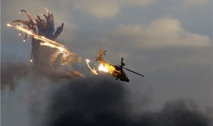Mujahidin Suriah Berhasil Tembak Jatuh 3 Heli Tempur Rusia
