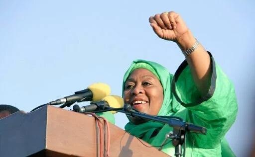 Samia Suluhu Hassan vice president of tanzania