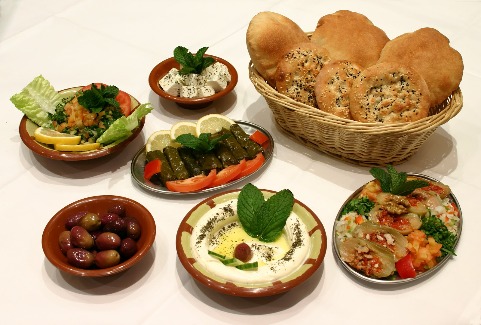 All colours yummmm lebanese food for Arabic cuisine food