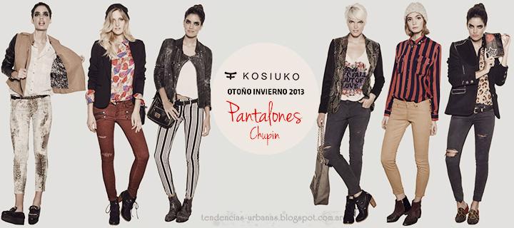 Pantalones invierno 2013 Kosiuko