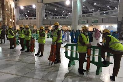 Mentri Agama Pastikan Korban Crane Dapat Santunan Sesuai Asuransi Haji