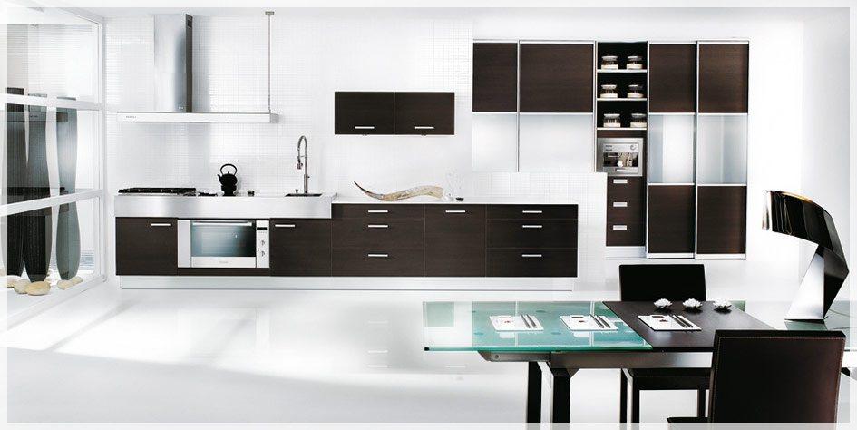 Svart og hvitt kjøkken design fra mobalpa   interiør inspirasjon
